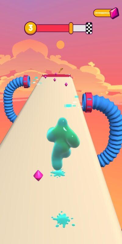 Скриншот Blob Runner для Android