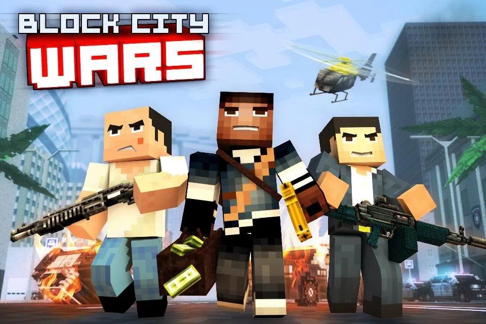 Скриншот Block City Wars для Android