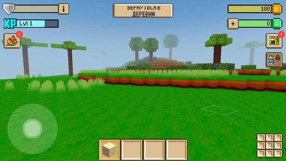 Скриншот Block Craft 3D для Android