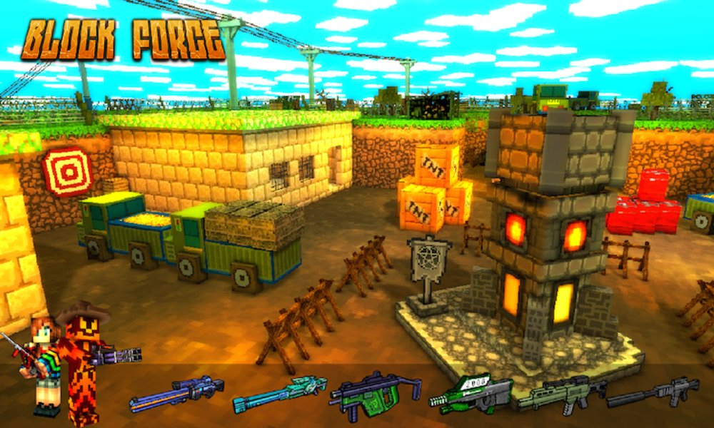 Скриншот Block Force — Cops N Robbers для Android
