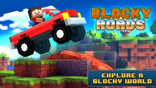 Скриншот Blocky Roads для Android