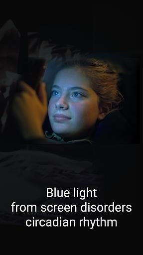 Скриншот Blue Light Filter для Android