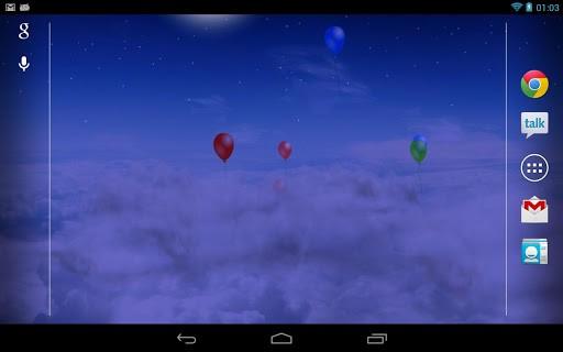 Скриншот Blue Skies для Android