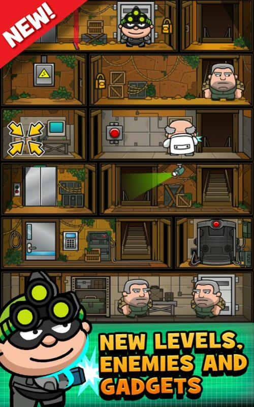 Скриншот Bob The Robber 3 для Android