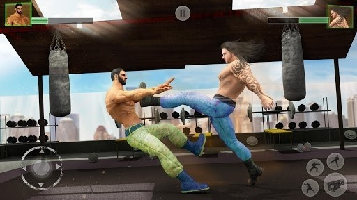 Скриншот Bodybuilder Fighting Club для Android