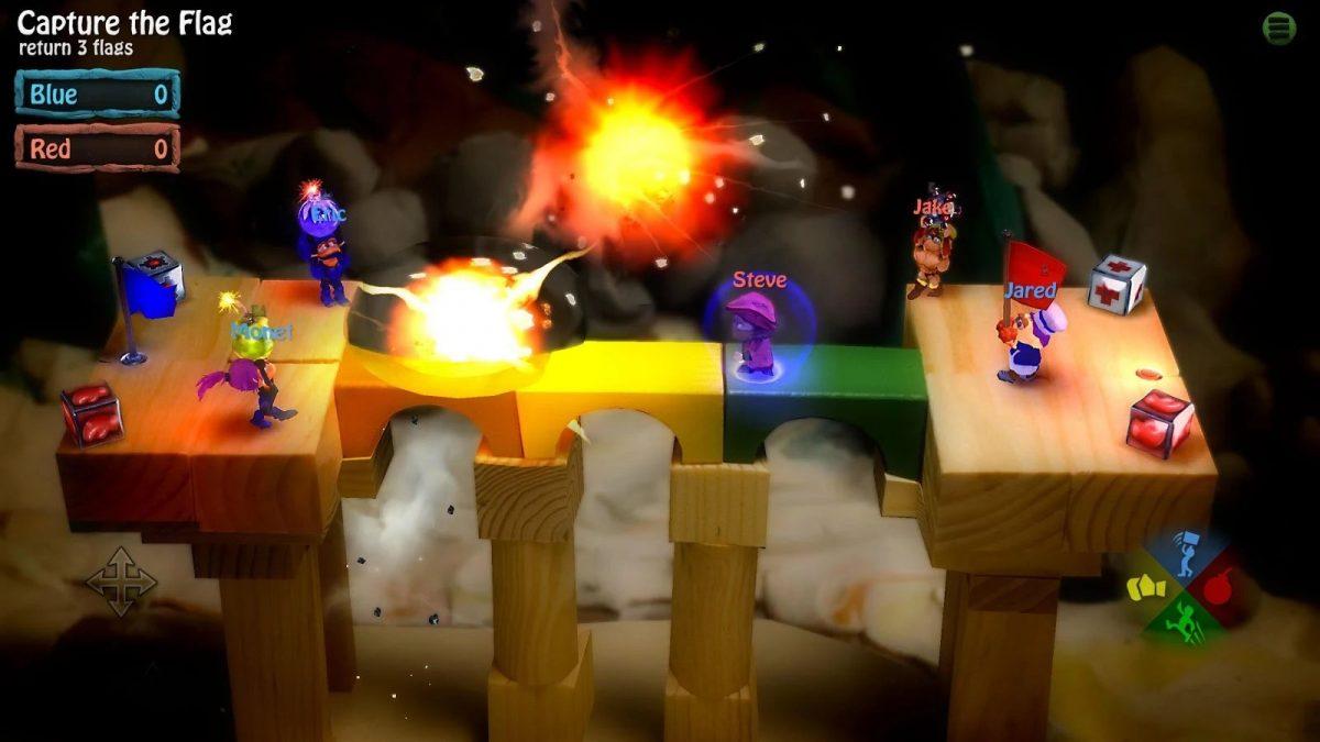 Скриншот BombSquad для Android