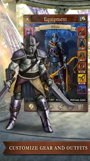 Скриншот Book of Heroes для Android