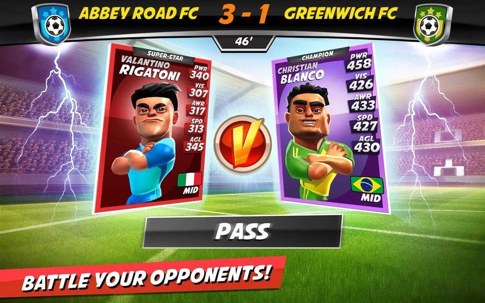 Скриншот Boom Boom Soccer для Android