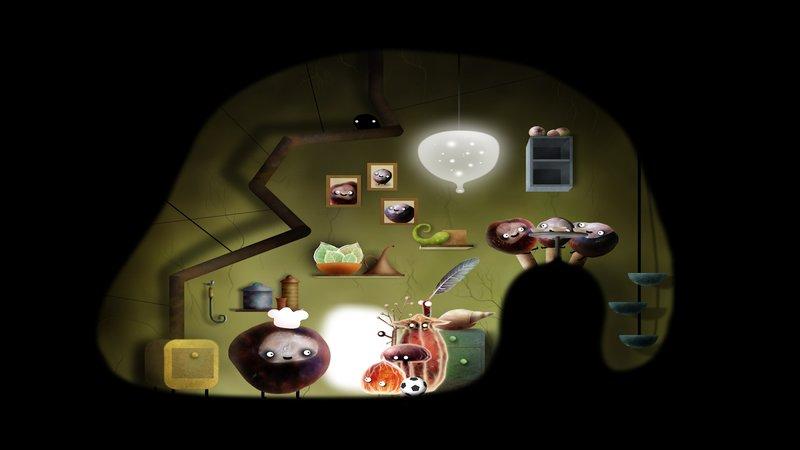 Скриншот Botanicula для Android