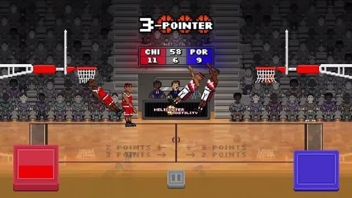 Скриншот Bouncy Basketball для Android