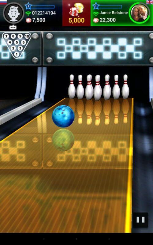 Скриншот Bowling King для Android