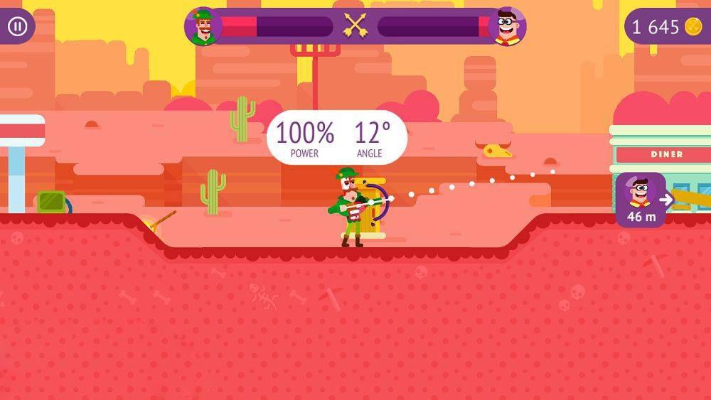 Скриншот Bowmasters для Android