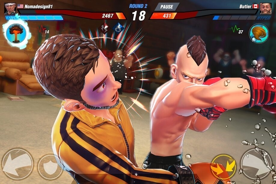 Скриншот Boxing Star для Android