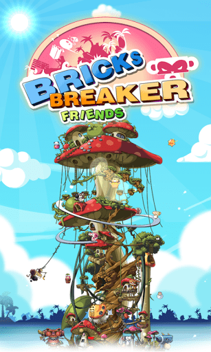 Скриншот BRICKS BREAKER — FRIENDS для Android