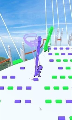 Скриншот Bridge Race для Android