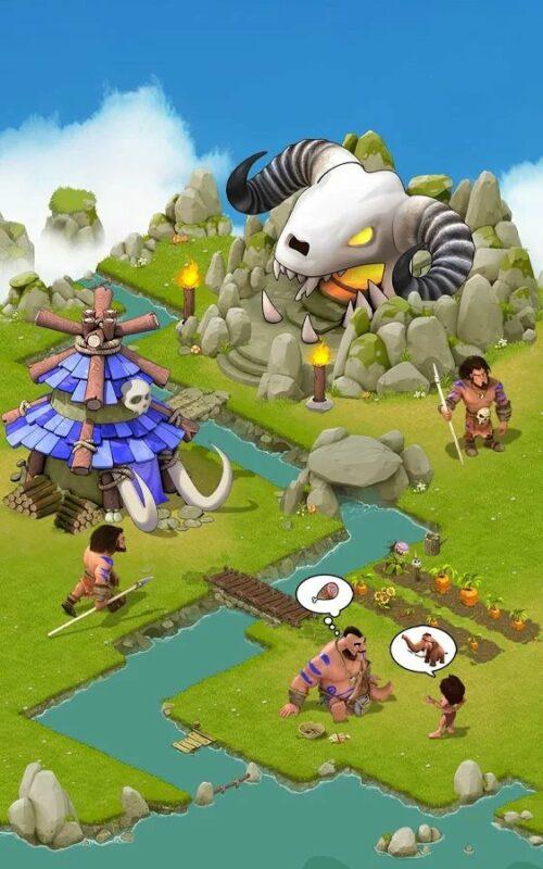 Скриншот Brutal age: Horde invasion для Android