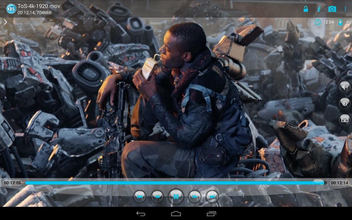 Скриншот BSPlayer для Android