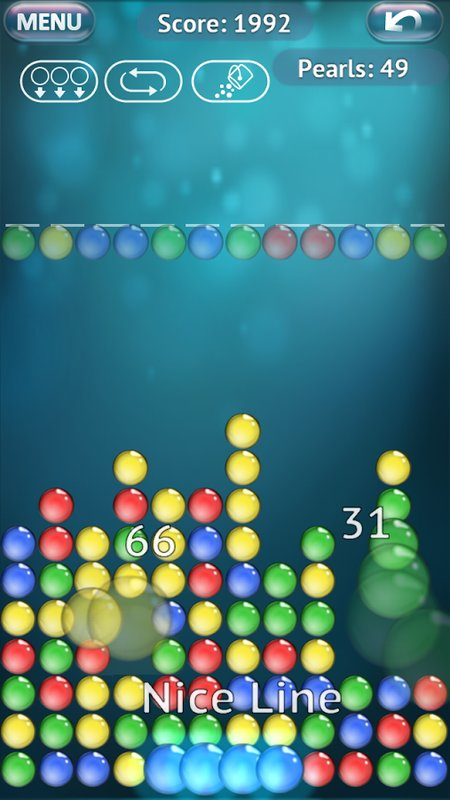 Скриншот Bubble Explode для Android