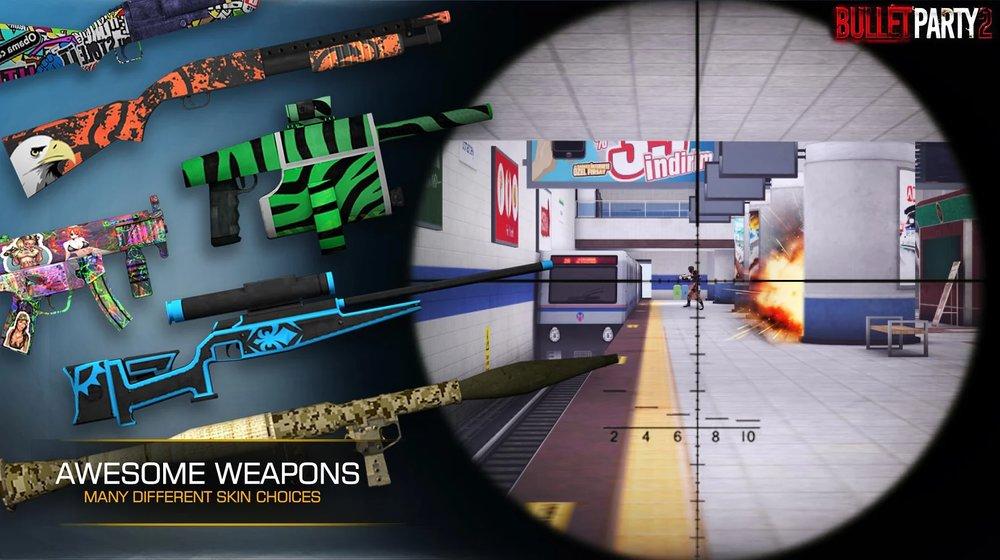 Скриншот Bullet Party CS 2: GO STRIKE для Android