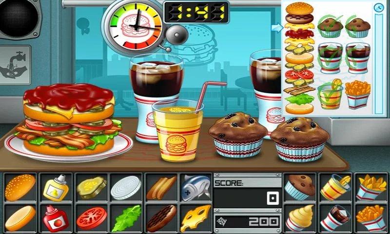 Скриншот Burger — Big Fernand для Android