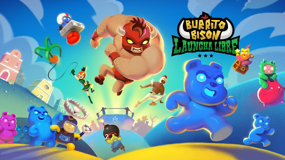 Скриншот Burrito Bison: Launcha Libre для Android