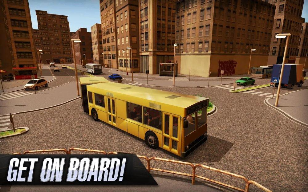 Скриншот Bus Simulator для Android
