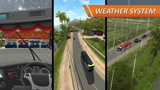 Скриншот Bus Simulator Indonesia для Android