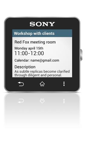 Скриншот Calendar Smart extension для Android