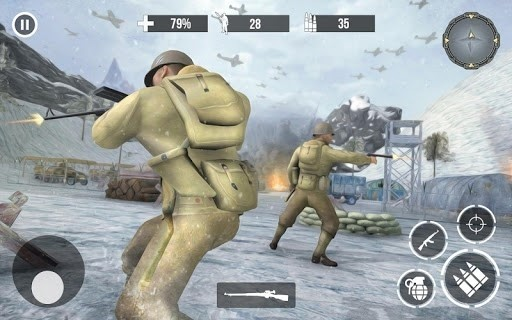 Скриншот Call of Sniper WW2 для Android