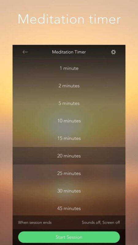 Скриншот Calm для Android