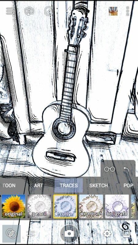 Скриншот Cameringo для Android