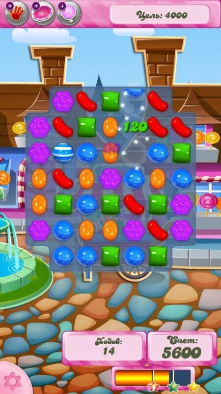 Скриншот Candy Crush Saga для Android