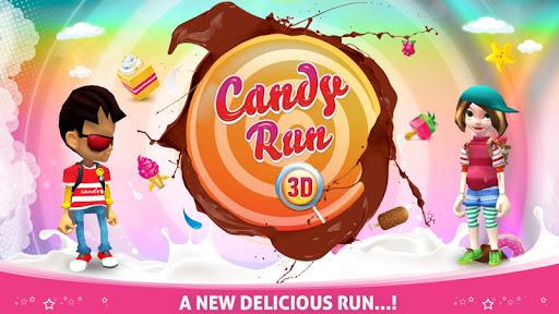 Скриншот CANDY RUN 3D для Android