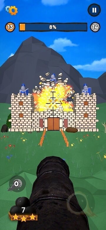 Скриншот Cannon It для Android