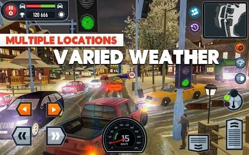 Скриншот Car Driving School Simulator для Android