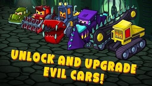 Скриншот Car Eats Car 3: Evil Cars для Android