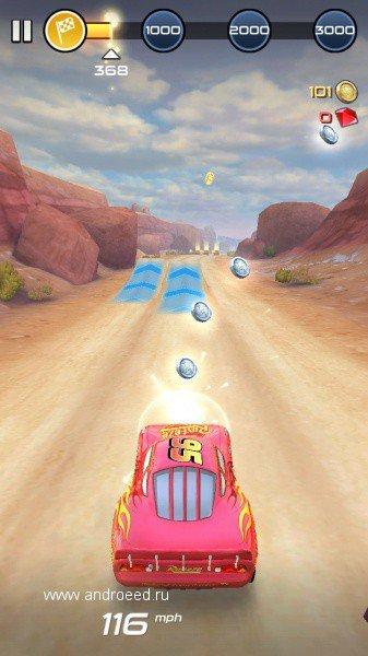 Скриншот Cars: Lightning League для Android