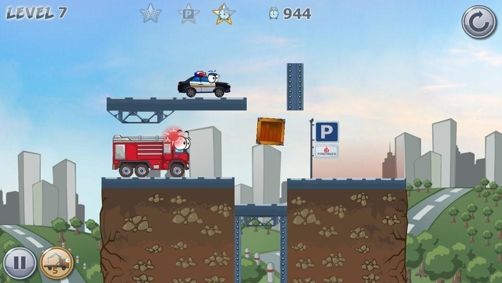 Скриншот Car Toons для Android