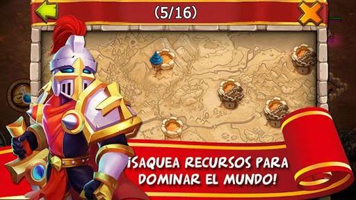 Скриншот Castillo Furioso: Castle Clash для Android