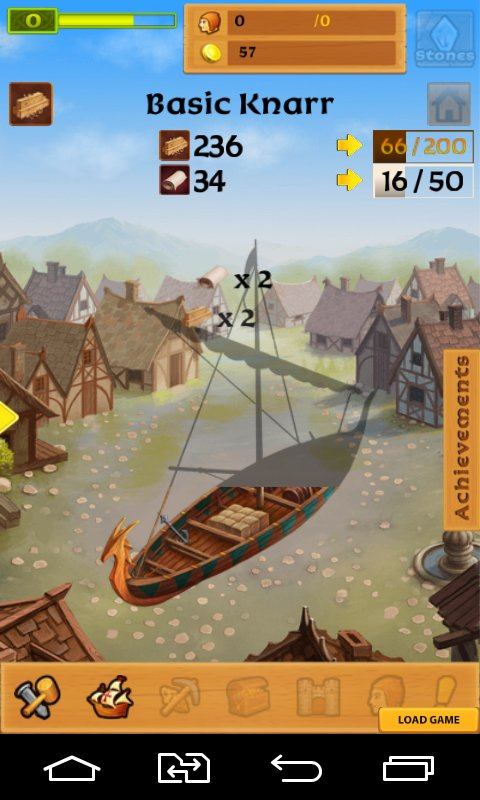 Скриншот Castle Clicker: Builder Tycoon для Android