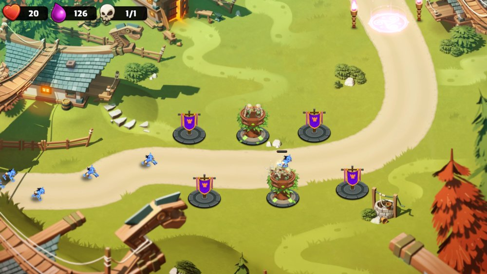 Скриншот Castle Creeps TD для Android