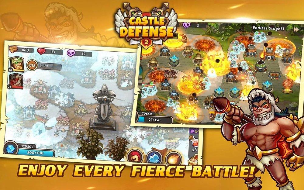 Скриншот Castle Defense 2 для Android