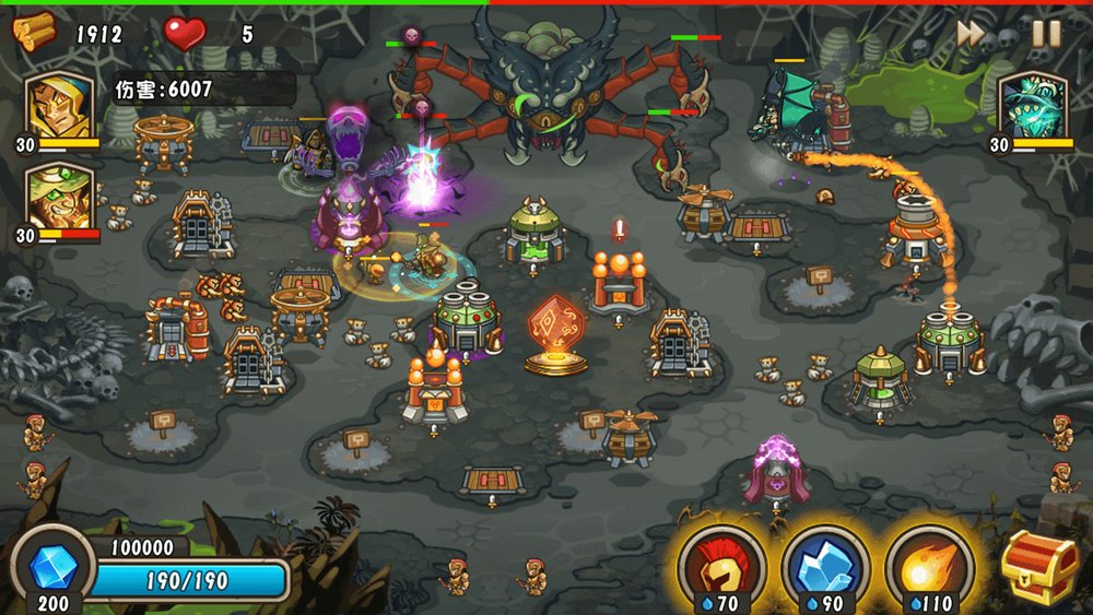 Скриншот Castle Defense 2 для Android