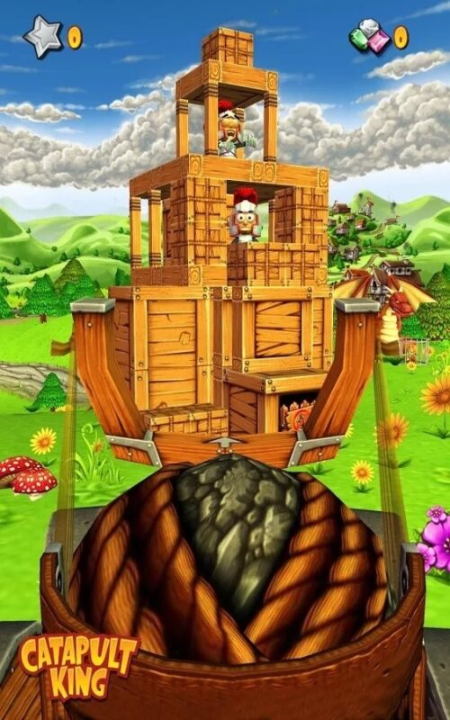 Скриншот Catapult King для Android