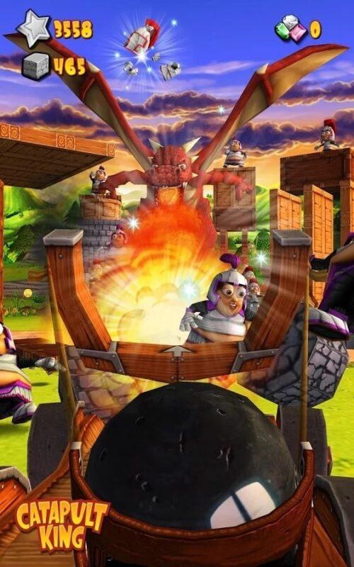 Скриншот Catapult King для Android