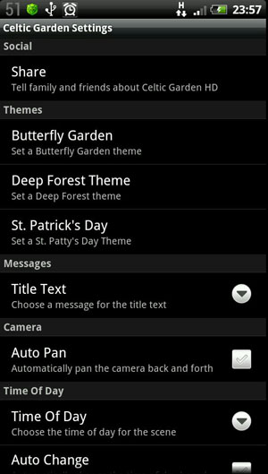 Скриншот Celtic Garden HD для Android