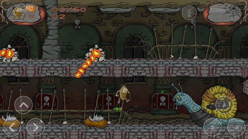 Скриншот Charlie The Roach для Android