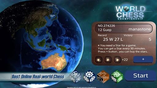 Скриншот Чемпионат мира по шахматам для Android