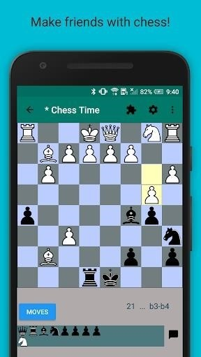 Скриншот Chess Time Pro для Android