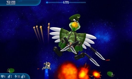 Скриншот Chicken Invaders 5 для Android